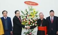 Tran Thanh Man beglückwünscht katholisches Erzbistum von Hanoi