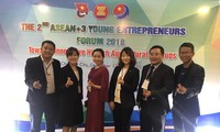 Eröffnung des Forums der jungen Unternehmer ASEAN +3