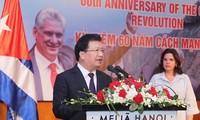 Verstärkung der Freundschaft und Solidarität zwischen Vietnam und Kuba