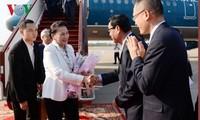 Parlamentspräsidentin Nguyen Thi Kim Ngan ist in Siem Reap eingetroffen