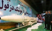 Erfolg des Iran bei der Entwicklung ballistischer Raketen
