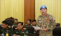 Ein weiterer vietnamesischer Offzier beginnt den Einsatz für UN-Friedensmission in Südsudan