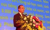 Eröffnung des Frankophonie-Festes im Mekong-Delta