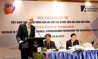 """Seminar """"Vietnam im UN-Sicherheitsrat: Partnerschaft für einen stabilen Frieden"""""""