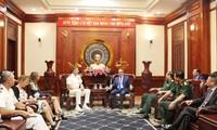 Nguyen Thien Nhan trifft den Kommandeur des US-Indopazifischen Kommandos