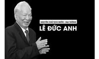 Tod des ehemaligen Staatspräsidenten Le Duc Anh: Asiatische Staatschefs schicken Beileidstelegramme
