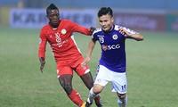 AFC Cup: Fußballverein Hanoi gegen Tampines Rovers aus Singapur