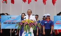 "Vizepremierminister Truong Hoa Binh nimmt an Feier zum Start der Kampagne ""Freiwillige Jugendliche im Sommer 2019"" teil"