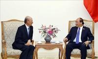 Premierminister Nguyen Xuan Phuc empfängt den Vorsitzenden des Konzerns CapitalLand