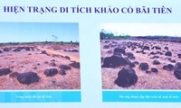 Runde Zitadelle Loc Tan 2 eventuell nationales archäologisches Relikt