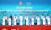 Spatenstich für den Bau des Erholungskomplexes FLC Quang Ngai