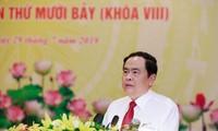 17. Sitzung des Präsidiums der Vaterländischen Front Vietnams