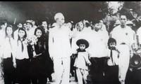 """Ausstellung """"50 Jahre der Umsetzung des Testaments Ho Chi Minhs"""""""