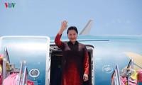 Parlamentspräsidentin Nguyen Thi Kim Ngan ist in Thailand eingetroffen