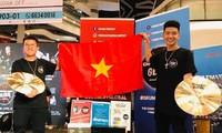 Vietnamesische Studenten gewinnen den internationalen Trommelwettbewerb 2019