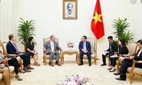 Vizepremierminister Vuong Dinh Hue empfängt den Geschäftsführer des US-Energieunternehmens