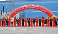 Vizepremierminister Truong Hoa Binh nimmt an der Einweihung des Wärmekraftwerks Vinh Tan 4 teil