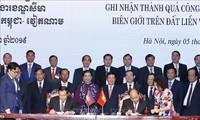 Vietnam und Kambodscha bewerten die Festlegung des Grenzverlaufs