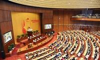 Abgeordnete schätzen Tagesordnung der 8. Parlamentssitzung sehr