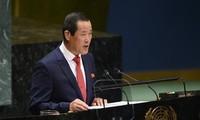 Nordkorea drängt die USA zur Umsetzung der Nordkorea-USA-Vereinbarung beim Gipfeltreffen in Singapur