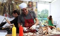 Kultur und Kochkunst Italiens werden auf dem Ly Thai To-Platz in Hanoi vorgestellt