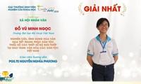 Do Vu Minh Ngoc gewinnt beim Wissenschaftsforschungswettbewerb für vietnamesische Studenten Eureka