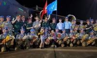 Das Verteidigungsministerium empfängt die 2. Gruppe des vietnamesischen Lazarettes-1