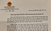Premierminister Nguyen Xuan Phuc schickt Brief an Sportdelegation Vietnams