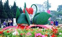 Entdeckung des Blumensfestivals von Da Lat