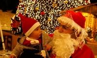 Belebte Weihnachtsstimmung im Geburtsort Jesu