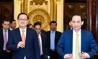 Sitzung der vietnamesisch-kambodschanischen Arbeitsgruppe für Grenzübergänge