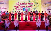 Eröffnung der Frühlingsmesse in Danang