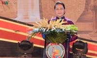 Aktivitäten von Parlamentspräsidentin Nguyen Thi Kim Ngan in Ben Tre