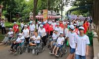 Betreiben der Software für Registrierung und Management der Informationen über Behinderte und Minenopfer