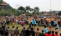 Reisanbaufest in Yen Bai