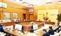 Eröffnung der 42. Sitzung des Ständigen Parlamentsausschusses