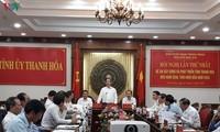Zentralwirtschaftsabteilung der KPV nimmt an einer Tagung in Thanh Hoa teil