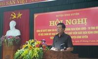 Offizielle Aufhebung der Isolation in der Gemeinde Son Loi