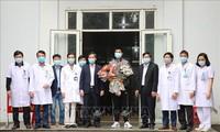 18. Covid-19-Patient ist gesund aus dem Krankenhaus entlassen