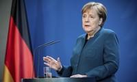 Bundeskanzlerin Angela Merkel in häusliche Quarantäne