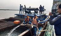 Schiff 936 der Marine-Akademie hilft den von der Dürre betroffenen Einwohnern