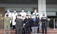 Weitere zehn Covid-19-Patienten aus dem Krankenhaus entlassen