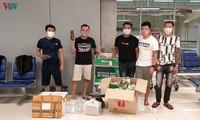 Die vietnamesische Botschaft in Thailand unterstützt vietnamesische Transitpassagier
