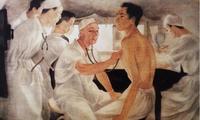 Kunstmuseum Vietnams präsentiert Werk zu Ehren der Ärzte bei der Epidemie-Bekämpfung