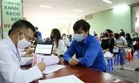 Die vietnamesische Jugendunion startet Blutspende