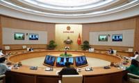 Sitzung der ständigen Regierungsmitglieder zur Prävention und Bekämpfung der Covid-19-Pandemie