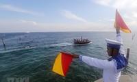 Förderung der Einhaltung der UNCLOS und Aufrechterhaltung der Rechtsordnung im Ostmeer