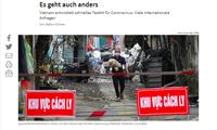 Deutsche Tageszeitung lobt Maßnahmen Vietnams zur Eindämmung der Covid-19