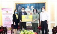 Ho Chi Minh Stadt: Fast 7000 Einheiten und Einzelpersonen spenden für Kampf gegen Covid-19
