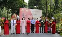 Eröffnung der Ausstellung über Präsident Ho Chi Minh